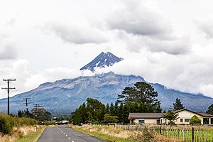 Mount Taranaki - From New Plymouth