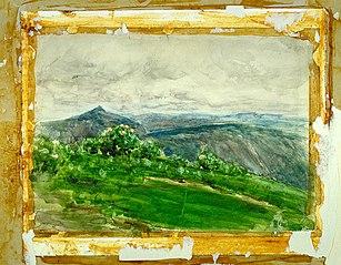 Mountain Landscape, Highlands, North Carolina