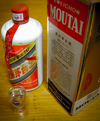 Kweichow Moutai - A typical Kweichow bottle