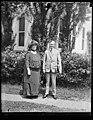 Mrs. Harriet Taylor Upton and Pres. Coolidge (White House, Washington, D.C.) LCCN2016893634.jpg