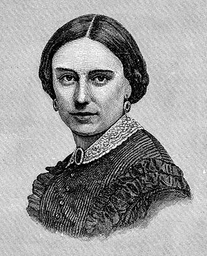 Ambrose Burnside - Mrs. Burnside, Mary Richmond Bishop