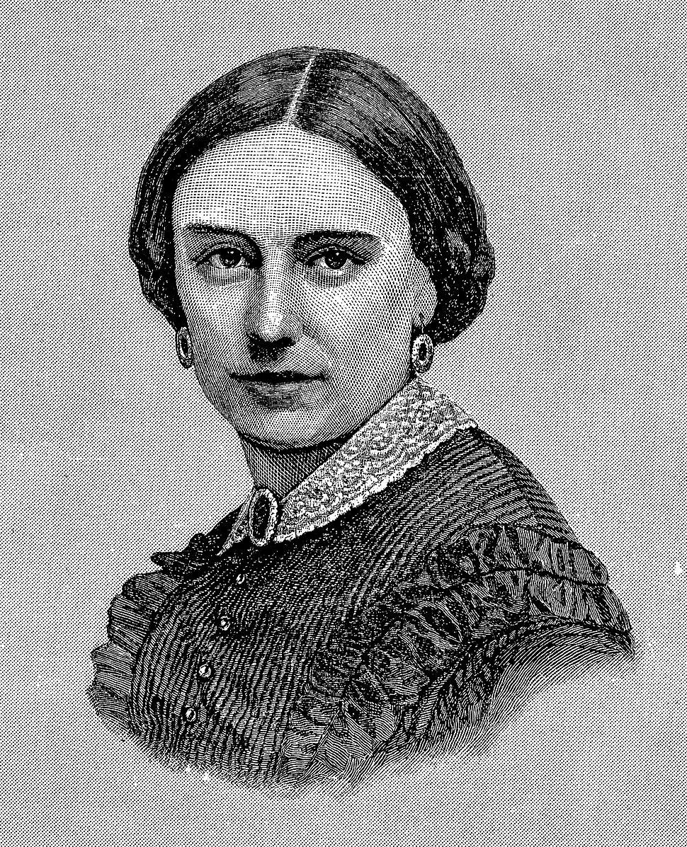 Mrs Ambrose Burnside, Mary Richmond Bishop