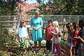 Mrs Evelin Ilves visits school garden at Stoddert Elementary (8033370046).jpg