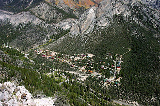 Mount Charleston, Nevada - A view of Mt. Charleston