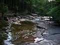 Mumlava, pod Mumlavským vodopádem, z lávky po proudu.jpg