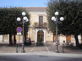 Castelluccio dei Sauri - Town hall.