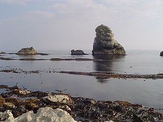 Mupe Bay - View of Mupe Rocks