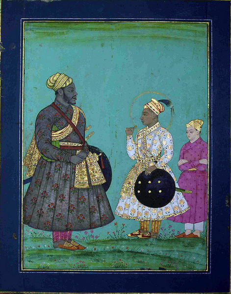 File:Murtaza Nizam Shah II and Malik Ambar.jpg