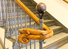 Termination Of A Handrail At The Museum Of Natural History, Görlitz, Germany