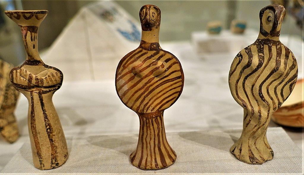 Mycenaean Terracotta Female Figures