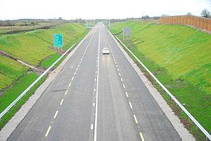 N5 road (Ireland) - Image: N5 charlestown bypass 2