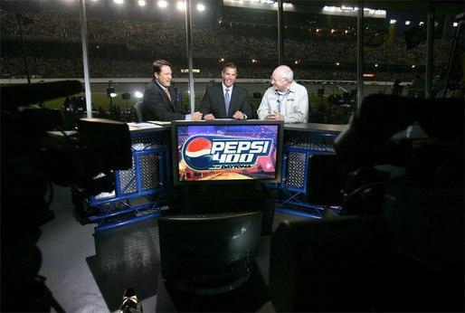 NASCAR on FOX with Cheney