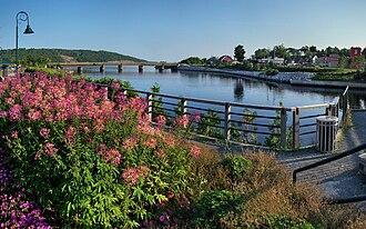 Woodstock, New Brunswick - On the Saint John River