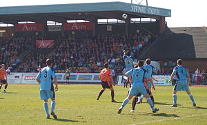 2009–10 Newport County A.F.C. season - First half action vs Dover Athletic