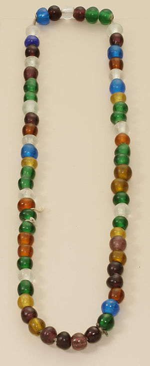 Trade beads - Beads like this were imported into China during the 19th century