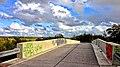NEU mit Unterschrift … die Brücke am pEElwaTT. - panoramio.jpg