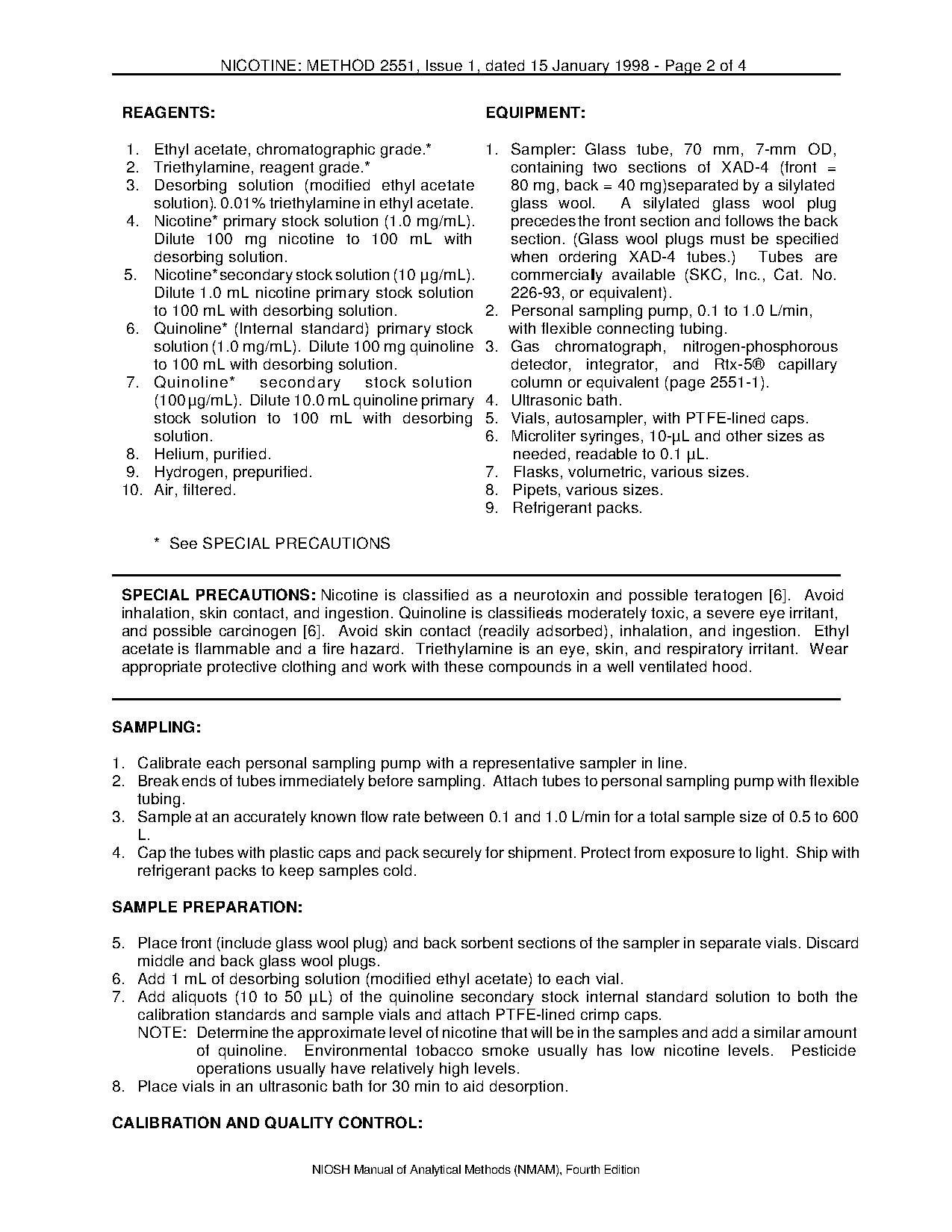 File:NIOSH Manual of Analytical Methods - 2551.pdf - Wikimedia Commons