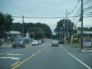 New Jersey Route 33 - Route 33 westbound in Hamilton Township