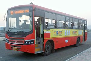 Navi Mumbai Municipal Transport - NMMT bus