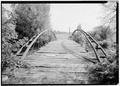 NORTH PORTAL, LOOKING SOUTH. - Ehrmanteraut Farm Bridge, Spanning Black Creet at Farm Road, Riga, Monroe County, NY HAER NY,28-RIGA,1-1.tif