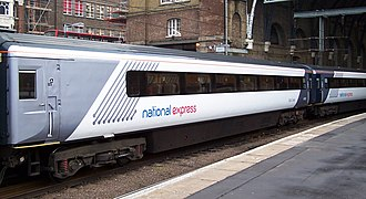 National Express East Coast - Image: NXEC HST King's Cross AB2