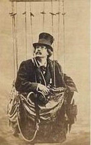 André-Adolphe-Eugène Disdéri - French carte de visite of Nadar