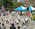 Nagoya city-Fire bureau band-Colorguard-01.jpg