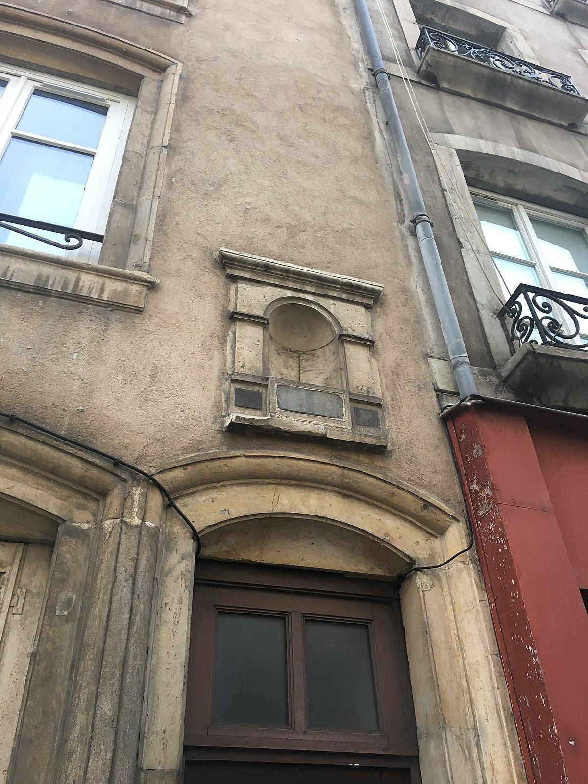Rue saint julien nancy wikip dia for Rue catherine opalinska nancy