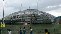 National Stadium at the Singapore Sports Hub under construction - 20131201.jpg