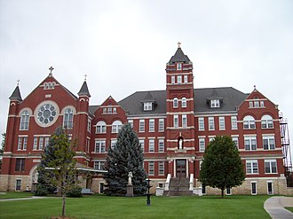 Sisters of St. Joseph - Nazareth Convent and Academy in Concordia, Kansas circa 2007