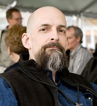 Neal Stephenson - Stephenson at Science Foo Camp 2008