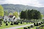 Nedre Eiker kirke og kapell mai 2018 nordfra (1).jpg