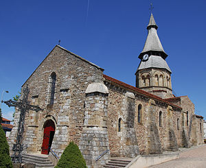 Néris-les-Bains - The church in Néris-les-Bains