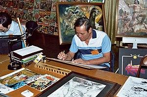 Nestor Redondo - Redondo in 1982