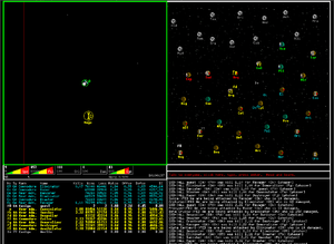 Netrek - In-game screenshot