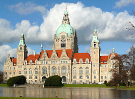 Neues Rathaus Hannover Febr 2011
