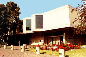 Welton Becket - Glendale Central Library, Project Designer Marvin Taff, finished March 13, 1973.