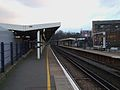 New Cross station southbound mainline platform look south2.JPG