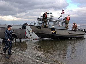 Naval militia - New York Naval Militia members respond to Hurricane Sandy.