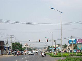 Dầu Giây Township in Southeast, Vietnam