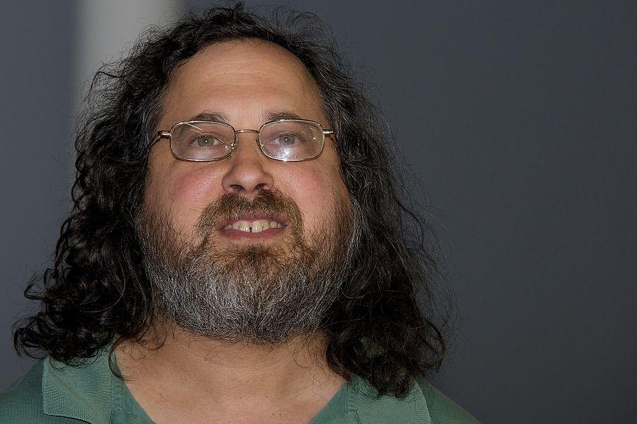 Richard Stallman - confe?rence sur le libre a? la biennale du design de Saint Etienne
