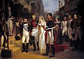 Nicolas Gosse - Napoleon receives the Queen of Prussia at Tilsit, July 6, 1807.jpg