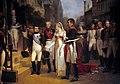 Nicolas Gosse - Napoleon receives the Queen of Prussia at Tilsit, July 6, 1807.jpg