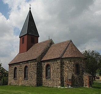 Niedergörsdorf - Image: Niedergoersdorf Mellnsdorf church