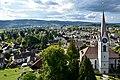 Niederuster - Greifensee - Pfannenstiel-Forch-Adlisberg - Reformierte Kirche und Kirchuster - Schloss Turm 2015-09-20 15-59-47.JPG