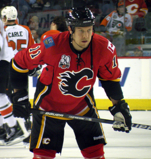 Niklas Hagman Finnish ice hockey player
