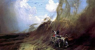 Museum of Don Cossacks - Image: Nikolay Dubovskoy Uragan v stepi 1890