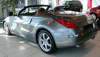 Nissan 350Z - Roadster (pre-facelift)