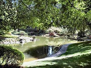 Nitobe Memorial Garden - Nitobe Memorial Garden during July