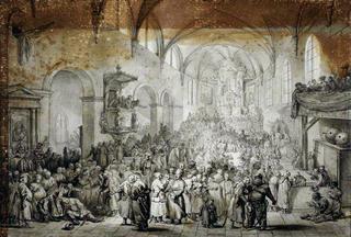 Sejmik w kościele